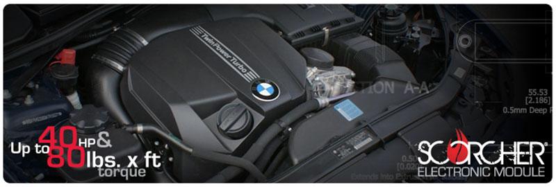 AFE: SCORCHER Module, BMW 335i (E9x) 11-13 L6-3.0L Sensor