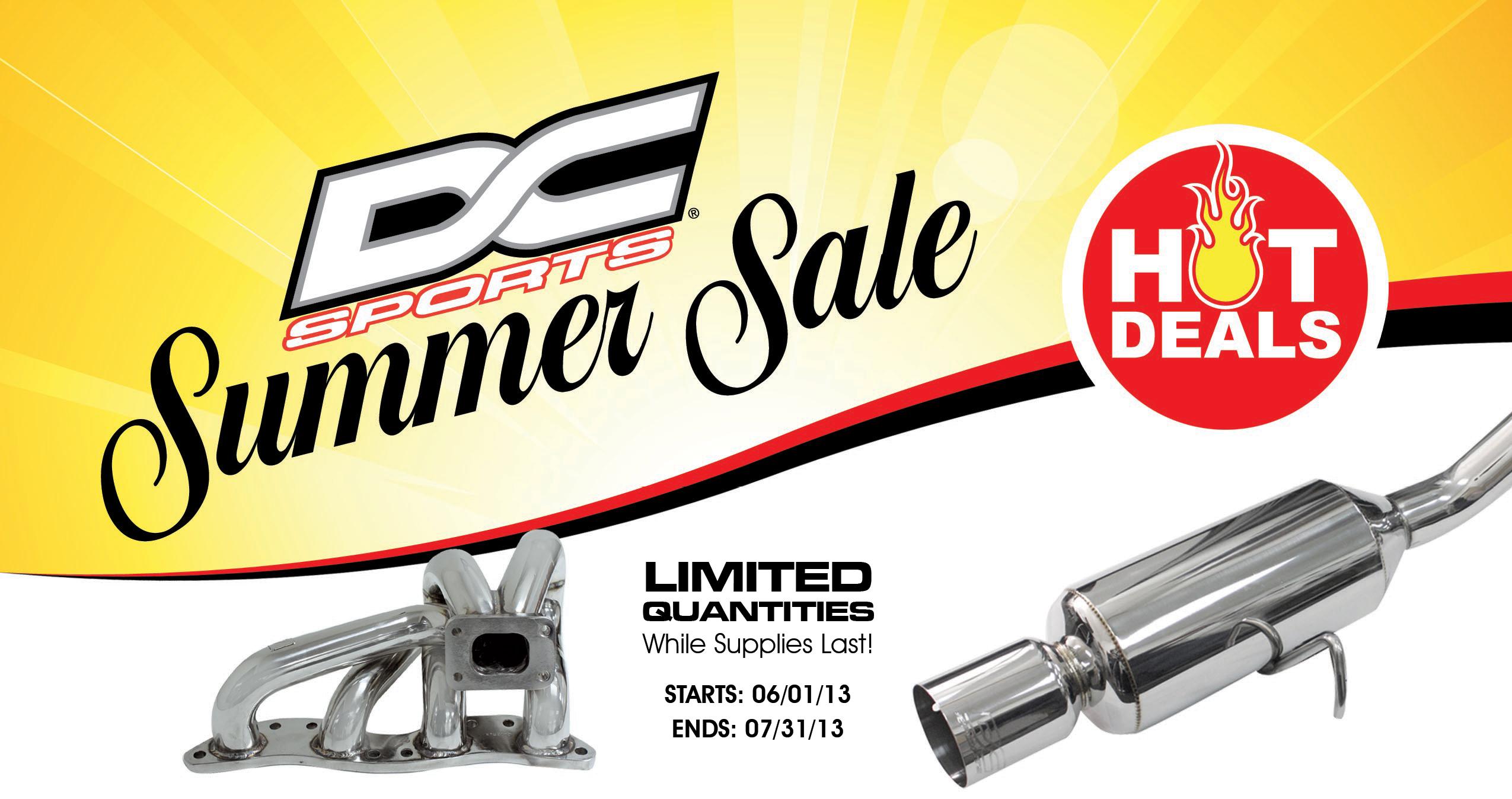 DC SPORTS: Summer Sale
