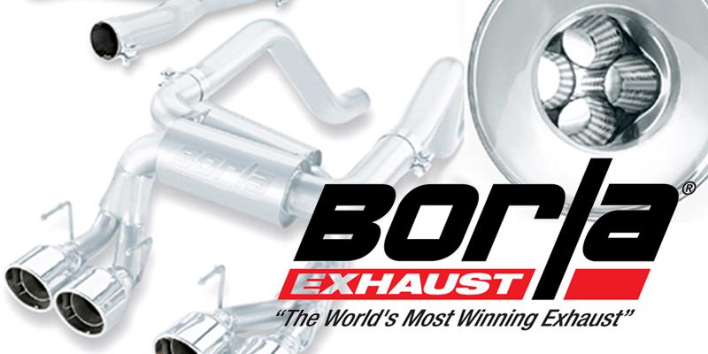 BORLA: New Product Added to Motorsports Line Up