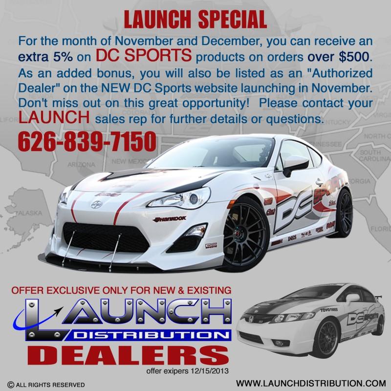 LAUNCH Distribution November/December Special