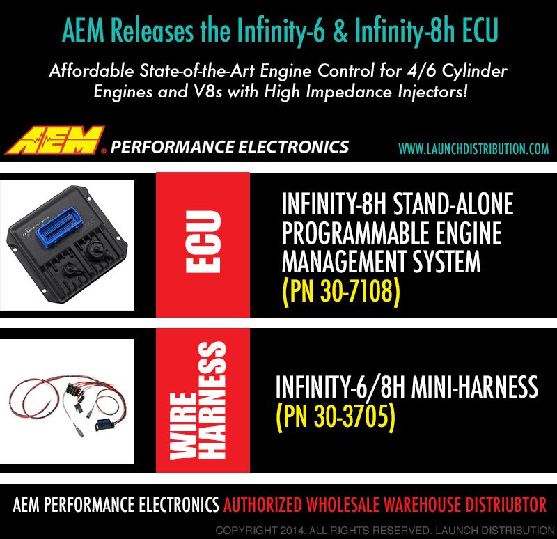 AEM ELECTRONICS: Infinity-6 and Infinity-8h ECU