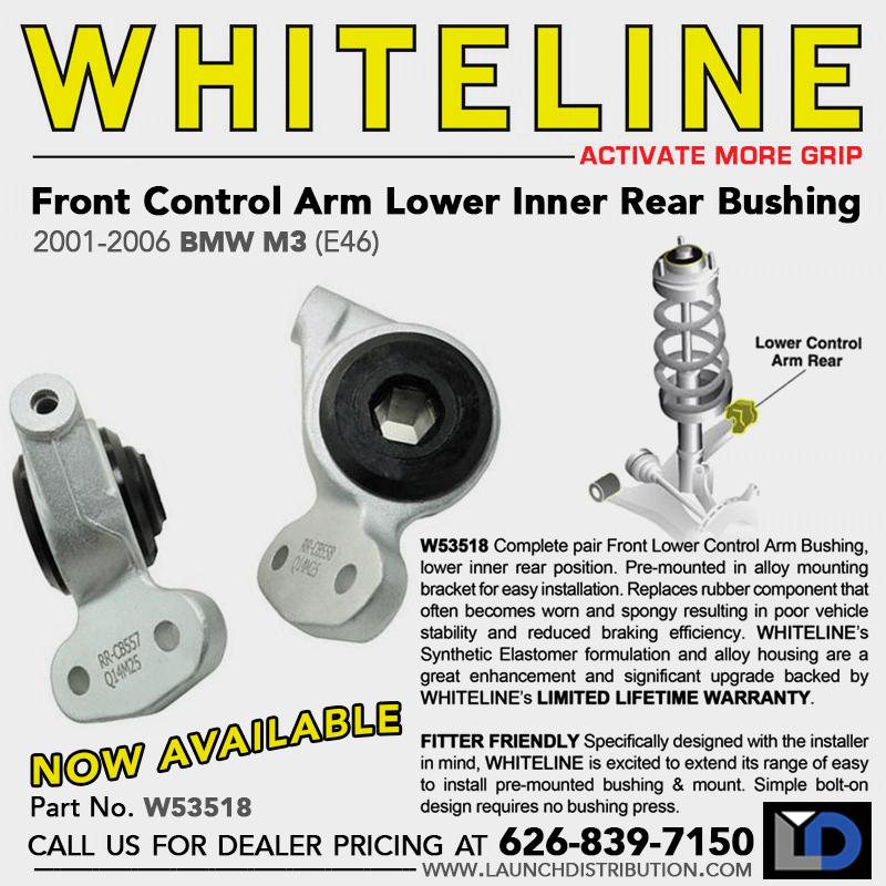 WHITELINE: W53518 – Front Control Arm Lower Inner Rear Bushing