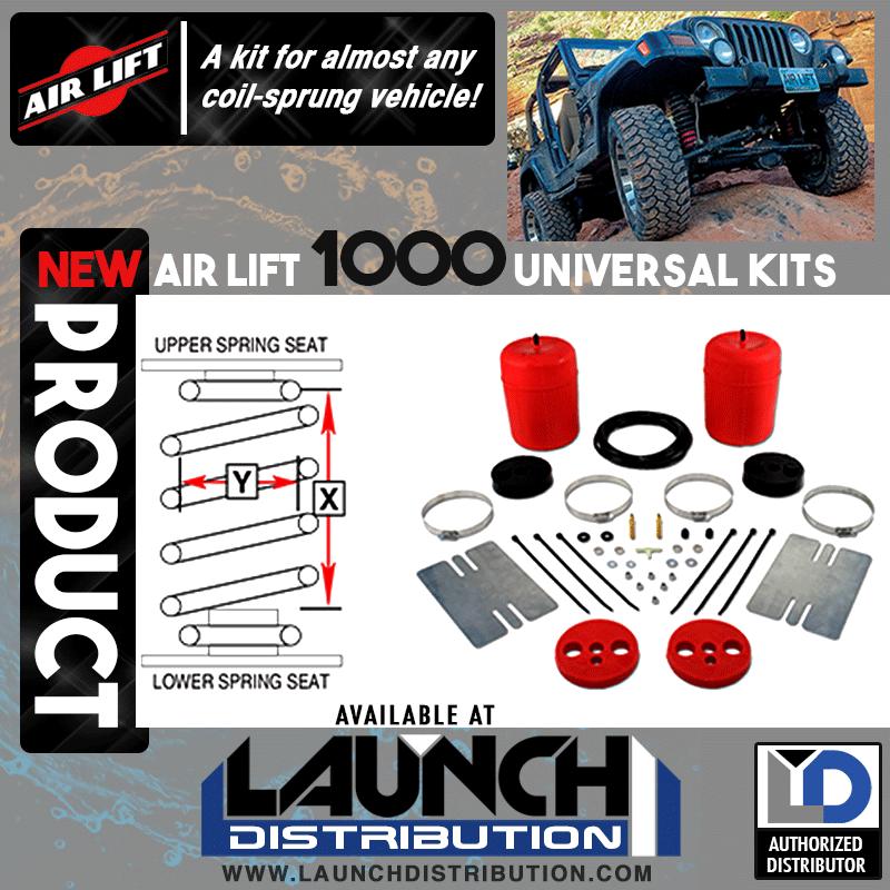 NEW: Air Lift 1000 Universal Kits