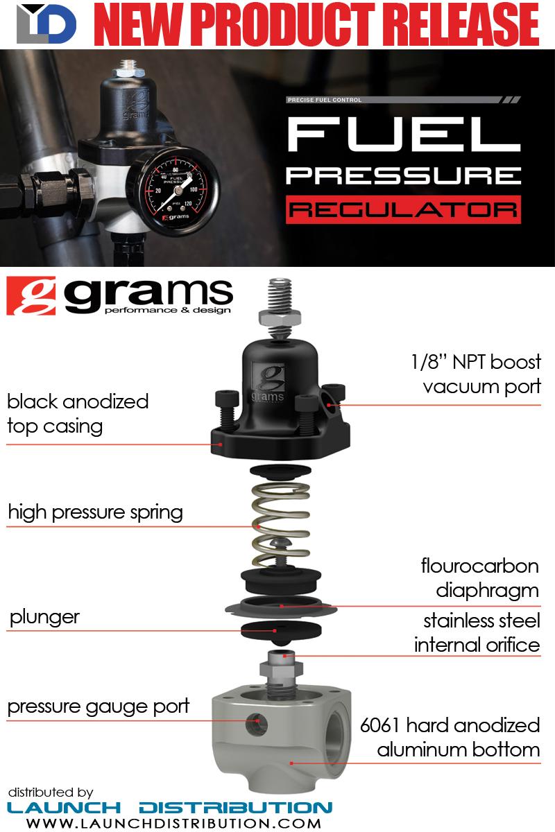 New Release: Grams by Skunk2 Fuel Pressure Regulator