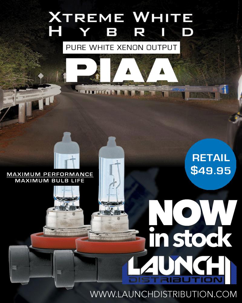 NOW Stocking PIAA Xtreme White Hybrid Bulbs
