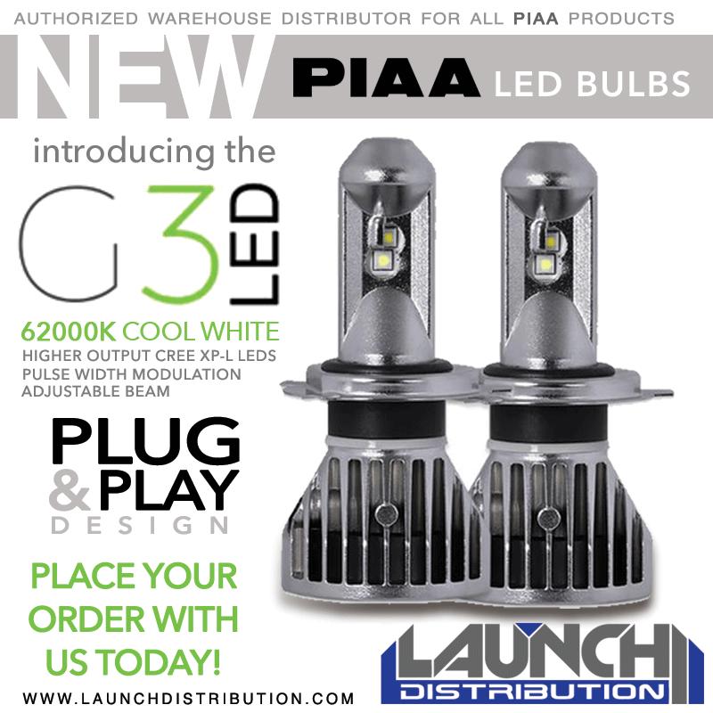 PIAA G3 LED Bulbs – Now Available