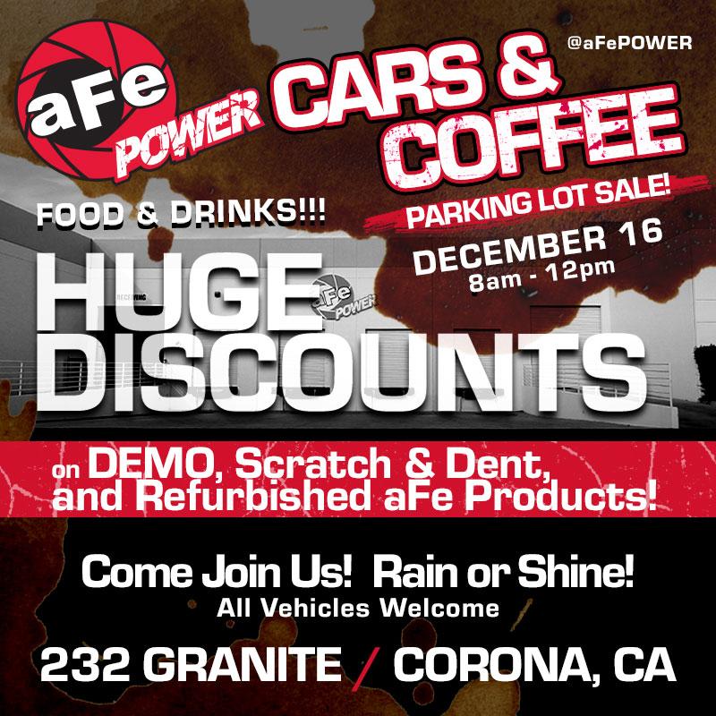 AFE Power: Parking Lot Sale on December 16