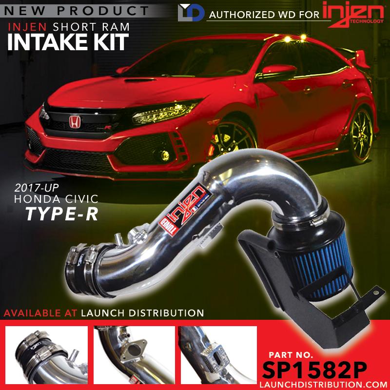 INJEN: Now Available 2017 Civic Type-R Short Ram Intake Kit