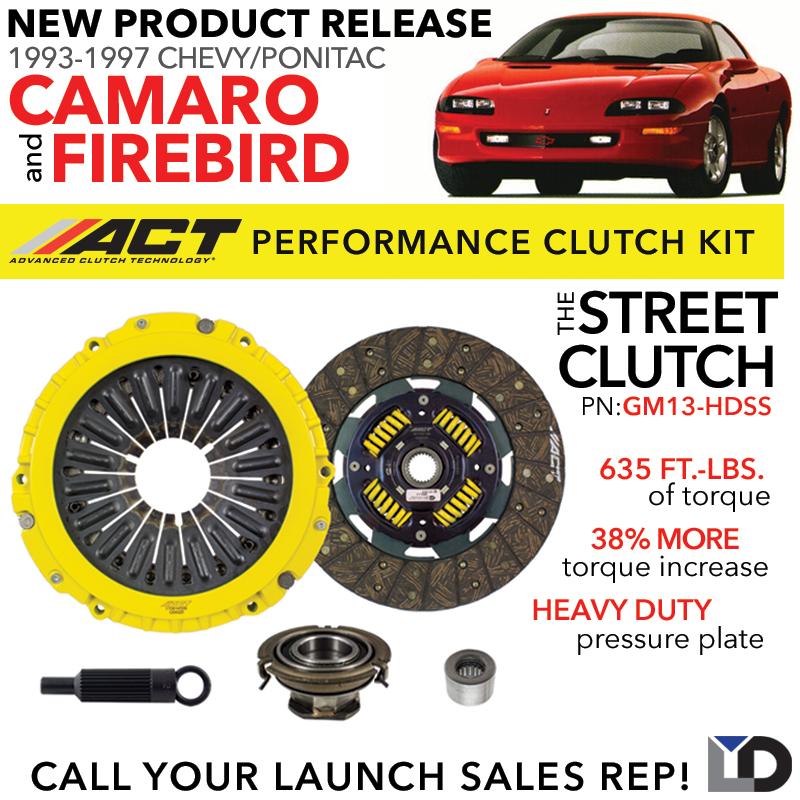 ACT CLUTCH: New Street Clutch Kit for 93-97 Camaro/Firebird