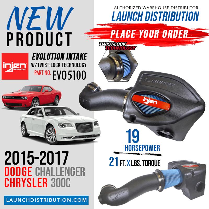 INJEN Evolution Air Intake System for 2015-17 Dodge Challenger/Chrysler 300C