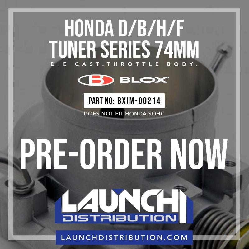 BLOX Pre-order the new 74mm Throttle Body for Honda B/D/H/F