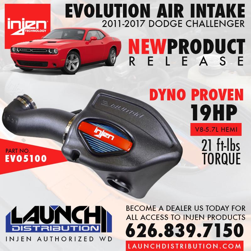 INJEN: New Evolution Air Intake for 2011-2017 Dodge Challenger