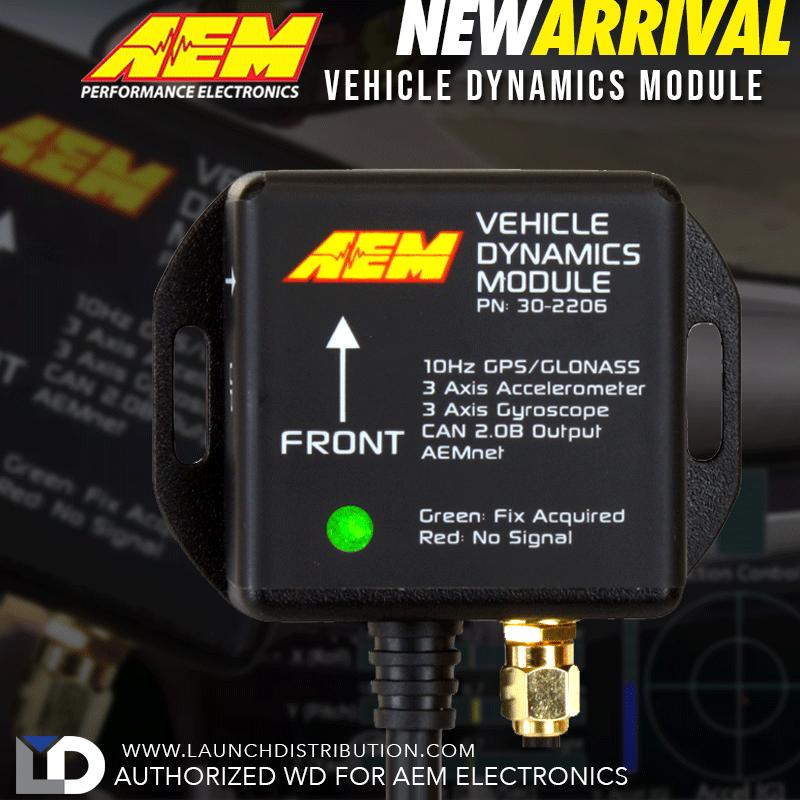 NEW: AEM Electronics Vehicle Dynamics Module