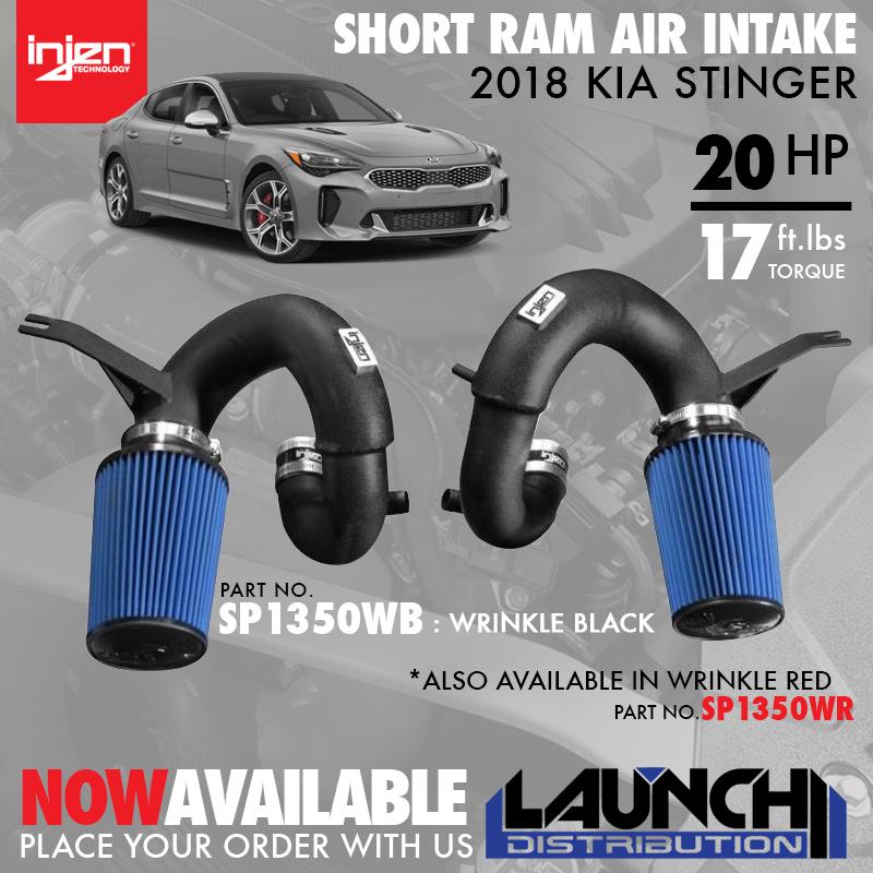 INJEN: New Short Ram Intake for 2018 Kia Stinger
