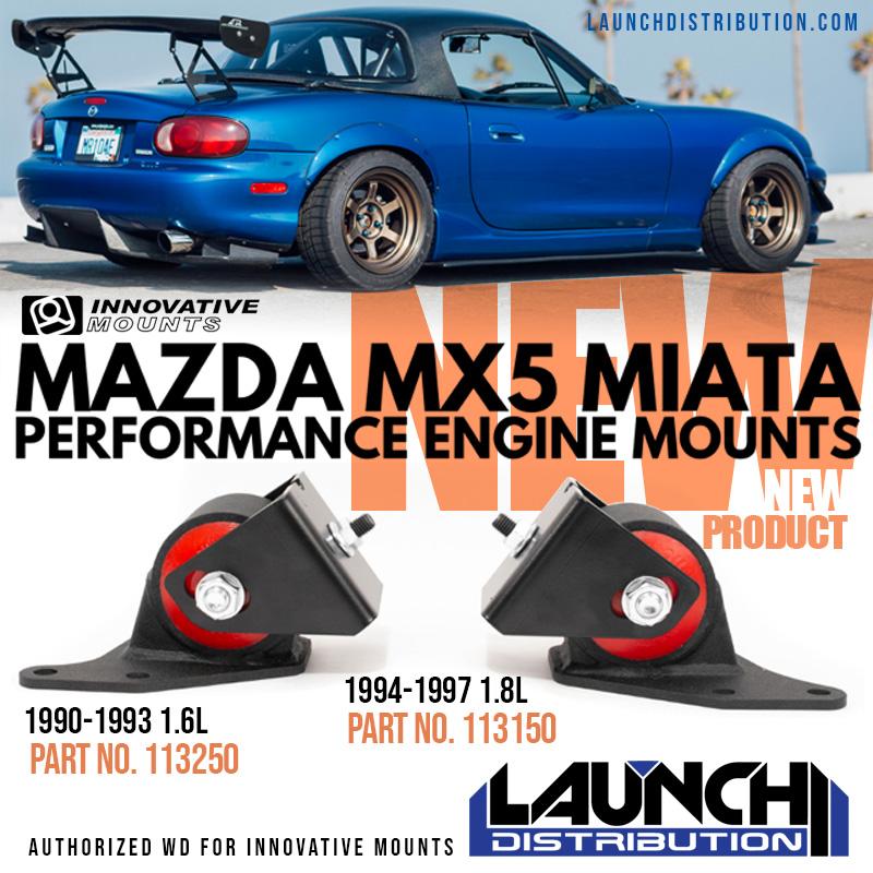 New Product: Mazda MX-5 Miata Motor Mounts from Innovative Mounts