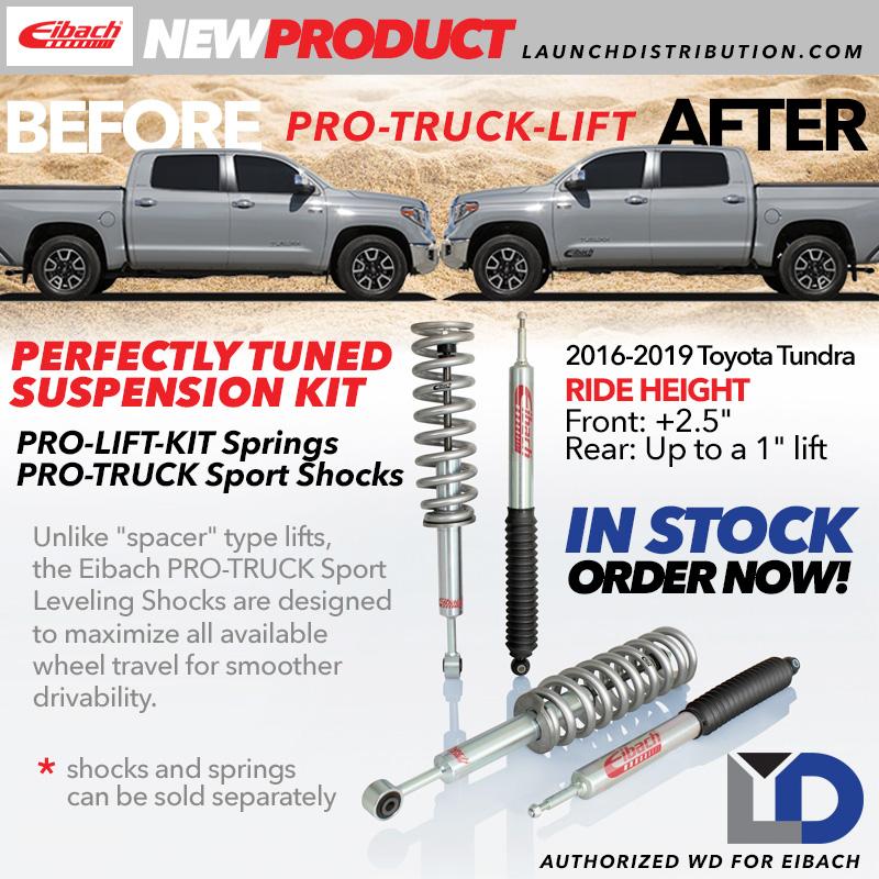 EIBACH: Pro Truck Lift kit for 2016-2018 Toyota Tundra