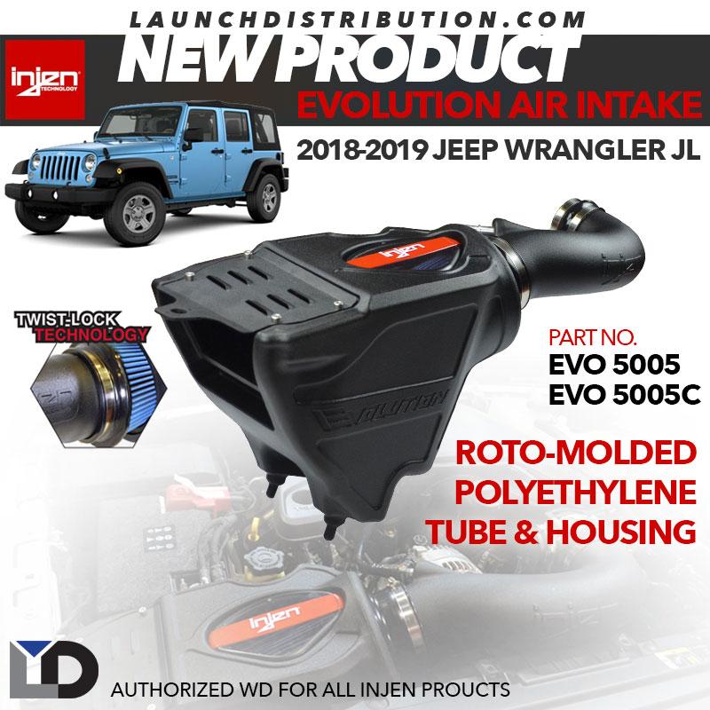 NEW: Injen Evolution Intake  for 2018-2019 Jeep Wrangler