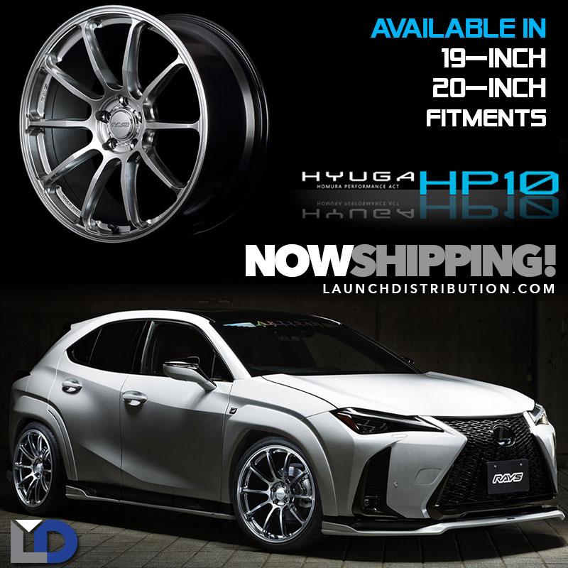 New Arrival: RAYS Hyuga Series Homura HP10 Wheels