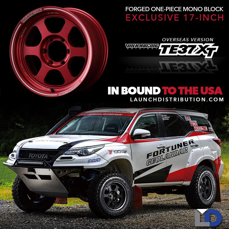 IN BOUND TO USA: Volk Racing TE37XT Wheels Overseas Version