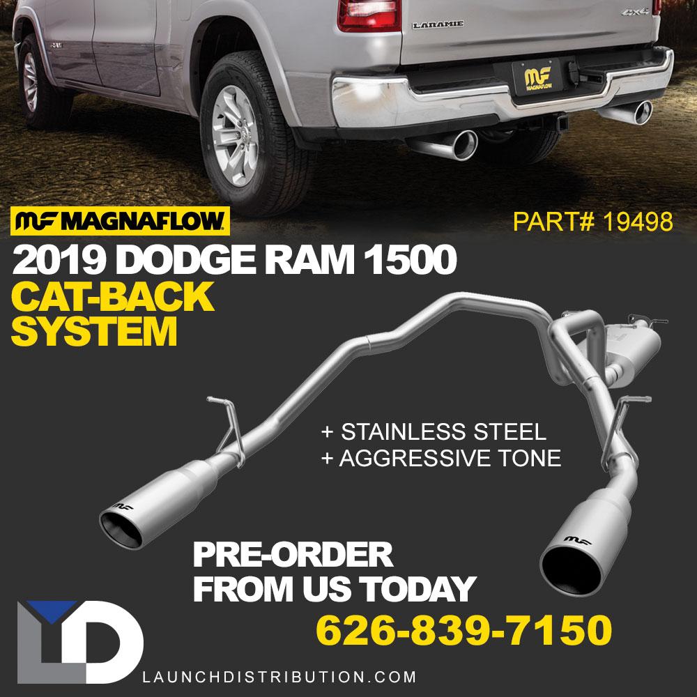 PRE ORDERING: Magnaflow Cat-Back Exhaust for 2019 Dodge Ram 1500