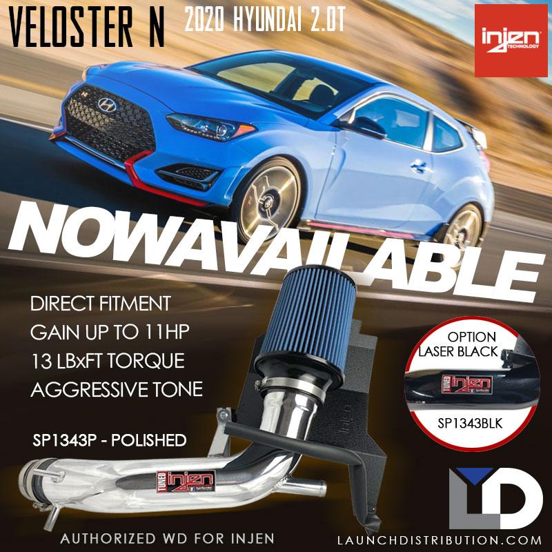 INJEN Intake Kit for 2020 Hyundai Veloster N 2.0Turbo