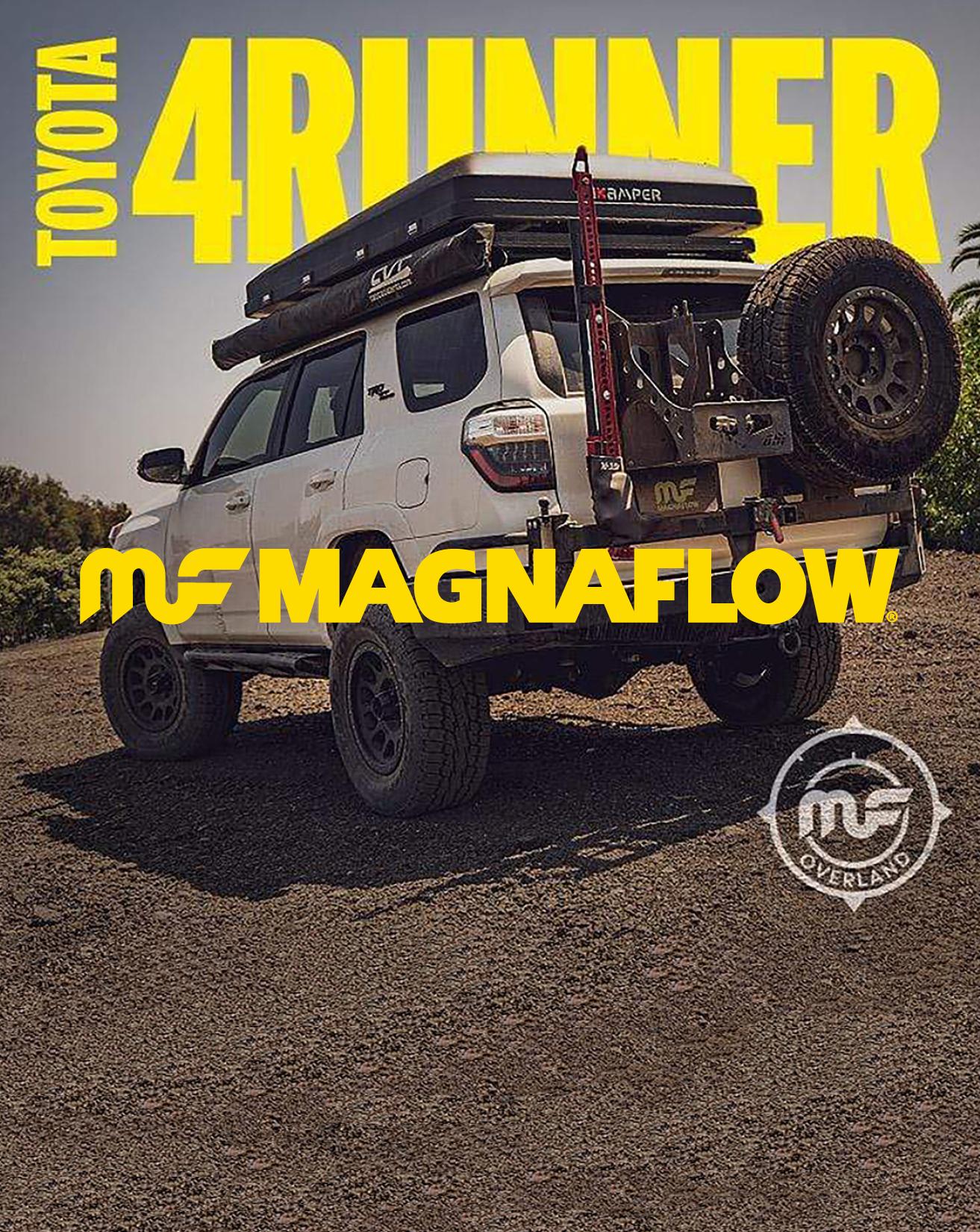 MagnaFlow Overland Series Catback for Toyota 4Runner