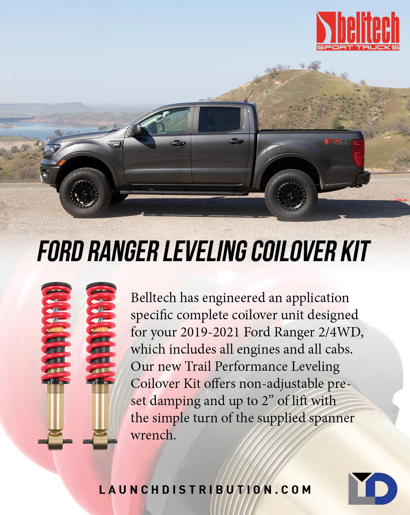 Belltech Leveling Coilover Kit for Ford Ranger
