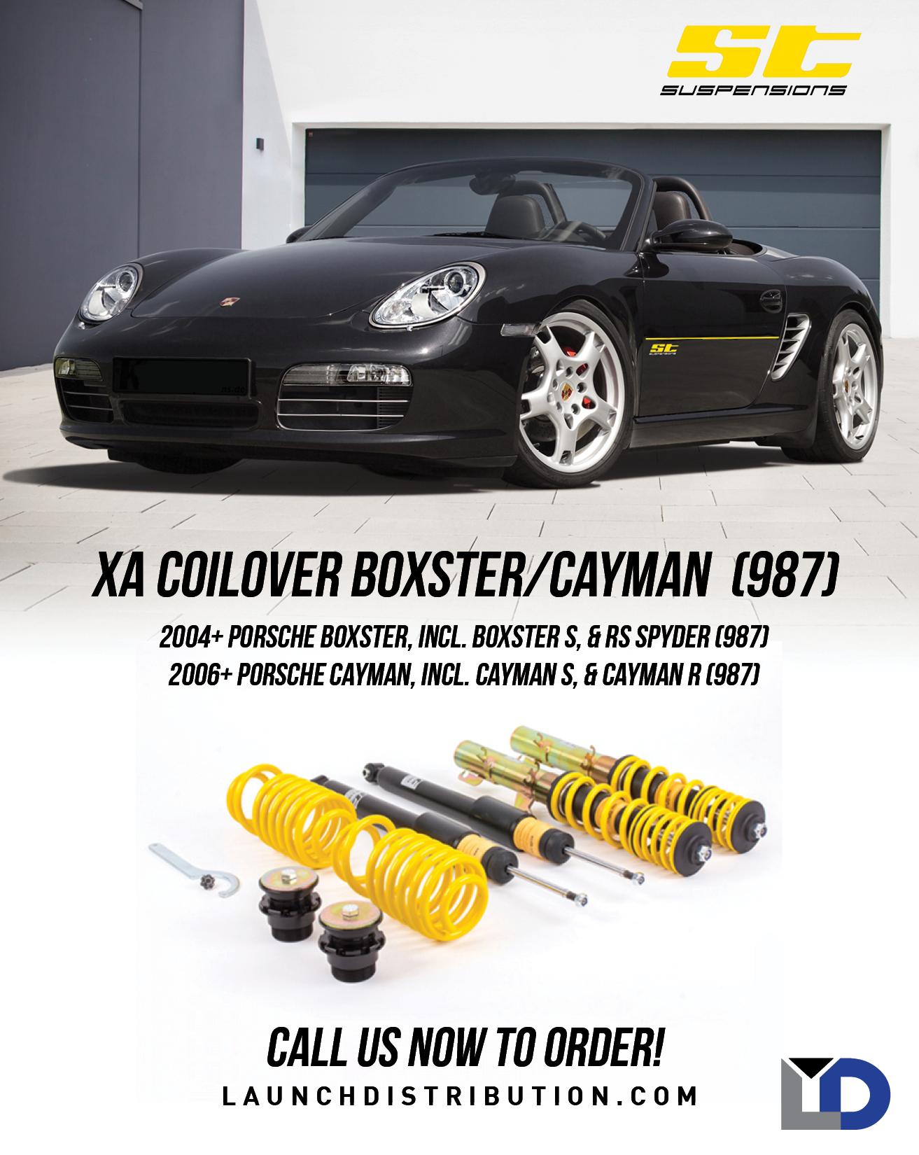 ST XT Coilover for Porsche 987