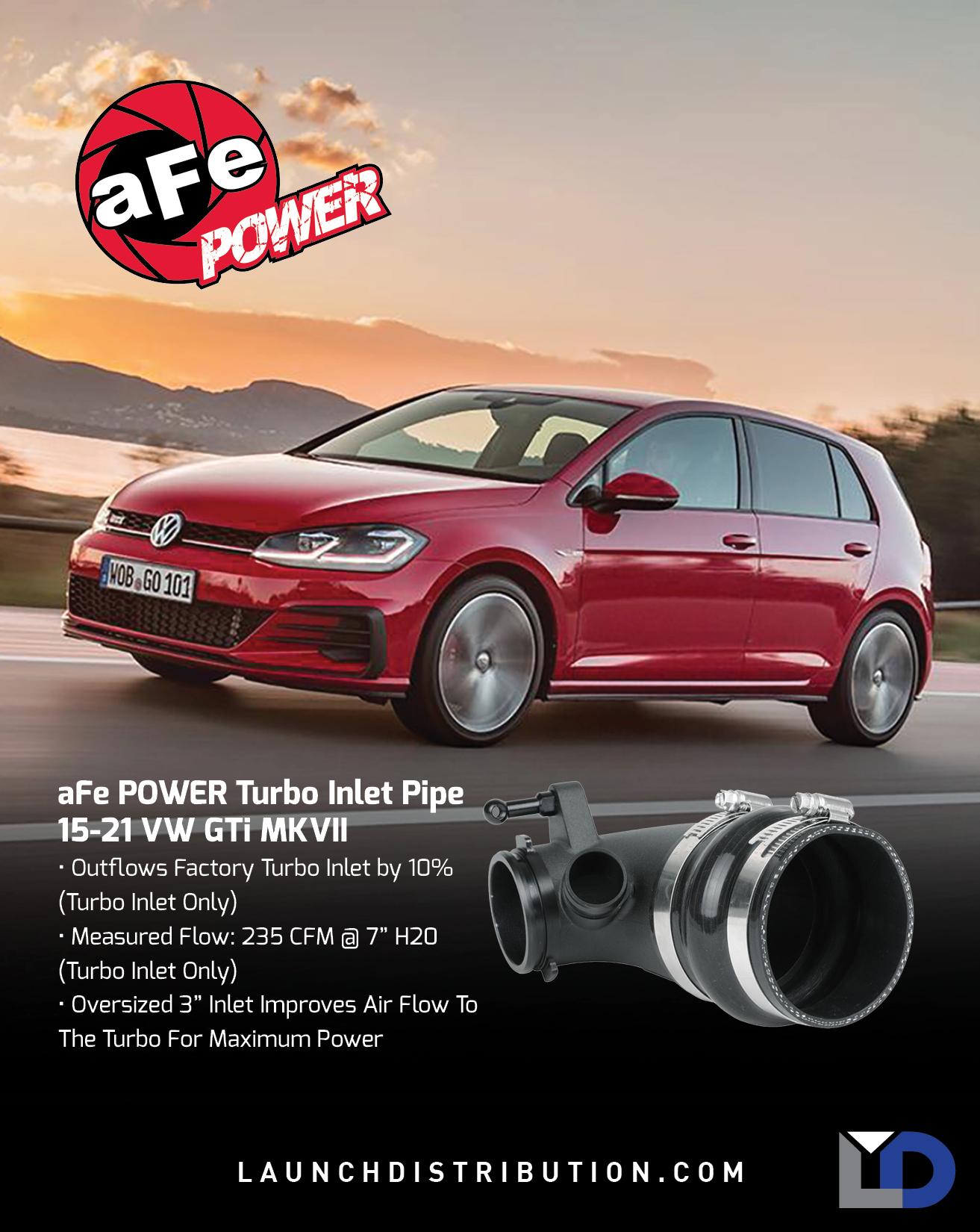 aFe Turbo Inlet for VW GTi MK7
