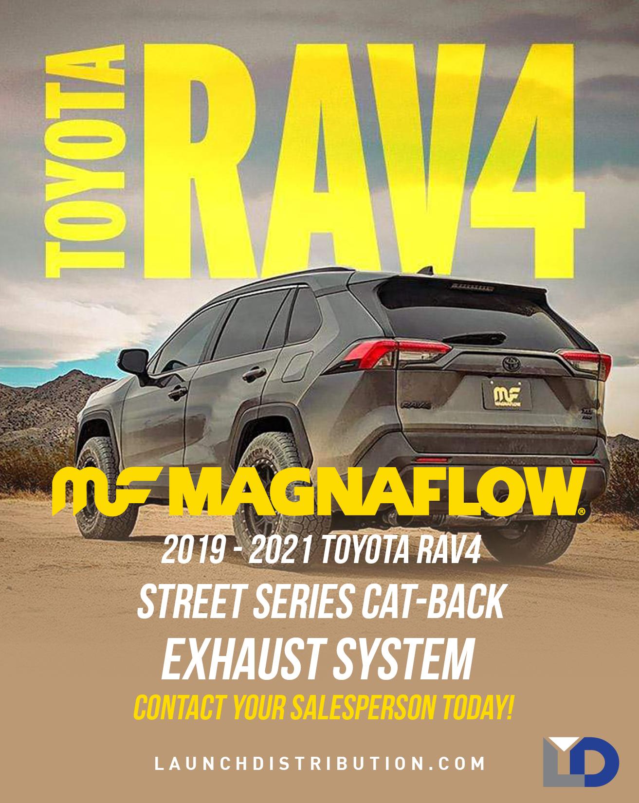 Magnaflow Street Series Exhaust for Toyota RAV4