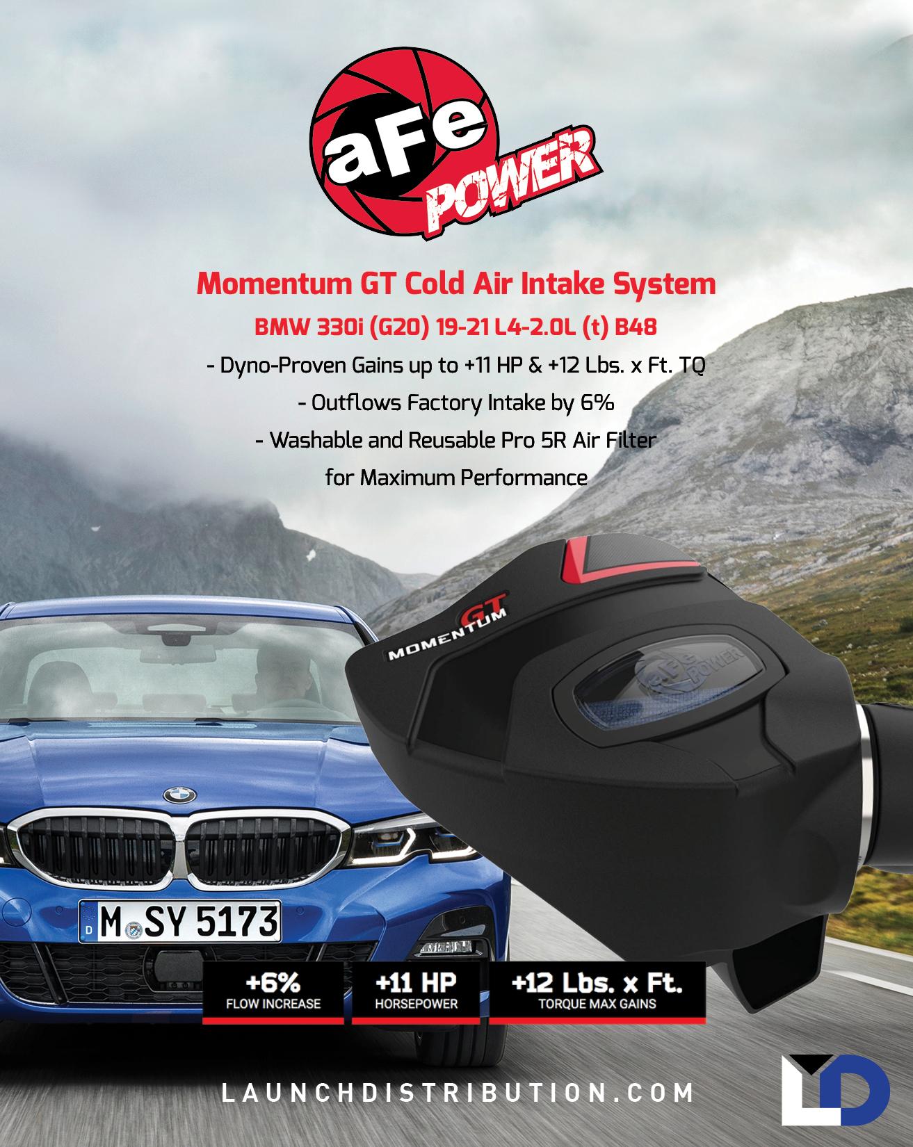 aFe Power Momentum GT CAI for BMW 330i (G20)